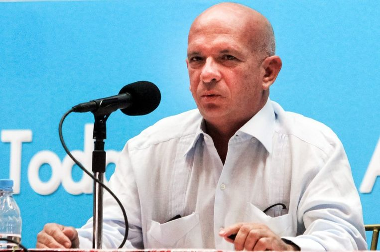 Hugo Carvajal op een foto uit 2013 Beeld epa