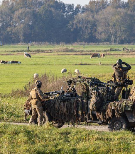 Militaire oefening in gemeente Berkelland