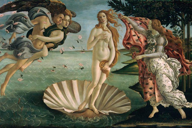 De geboorte van Venus. Beeld Sandro Botticelli