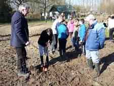 Leerlingen van Lambertusschool planten bijna 1.900 struikjes en boompjes