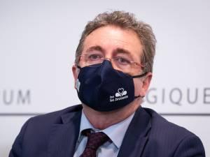 """Rudi Vervoort mis sous """"pression"""" par les experts: """"Je reste traumatisé par le dernier CNS de septembre"""""""