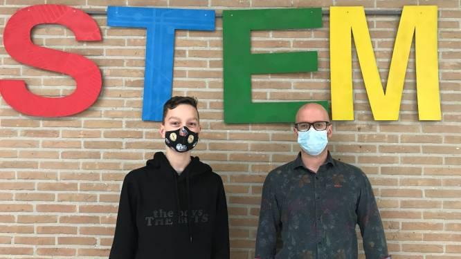 Voor vijfde jaar op rij leerling van Heilig Graf naar finale STEM-olympiade
