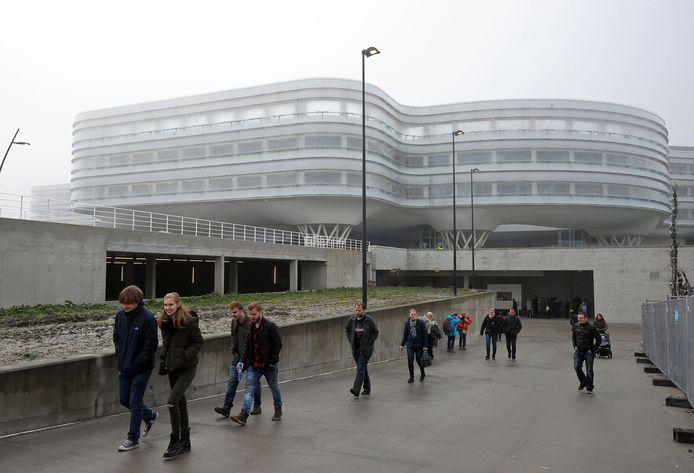 Het ziekenhuis van Knokke.