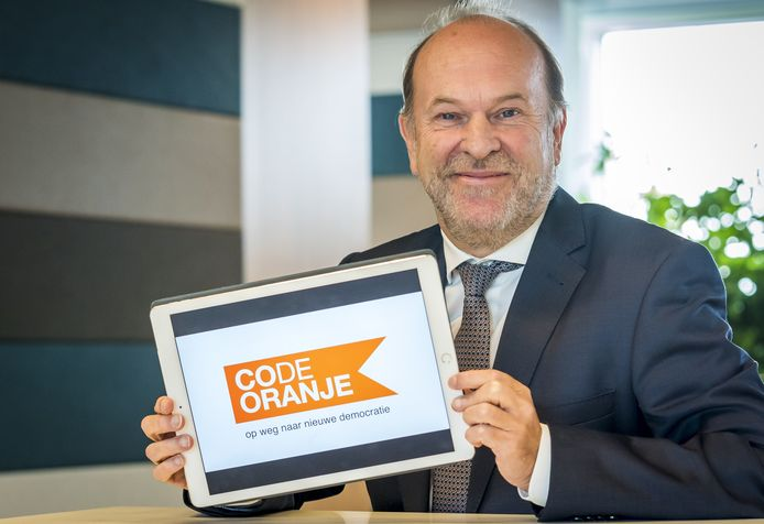 Bert Blase, oprichter van Code Oranje.