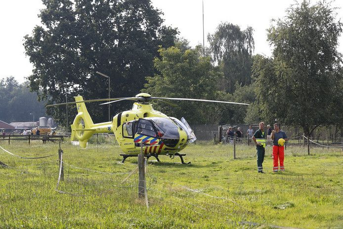 Hulp van de traumahelikopter kwam te laat