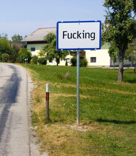 """""""Fucking"""" change de nom: les panneaux du village insolite se revendent à prix d'or"""