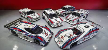 Lancia-collectie met Martini-striping maakt liefhebbers dorstig