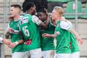 Dankzij de zege stijgt FC Dordrecht naar de 19de plek.