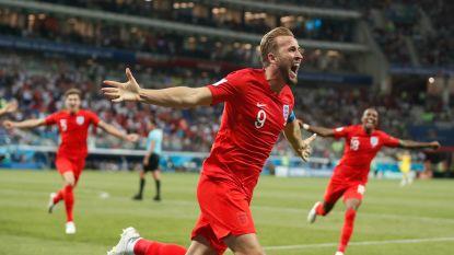 Na Lukaku ook 'brace' voor Kane: spits trekt Engelsen in extra tijd over de streep tegen Tunesië