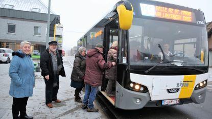 Na petitie en protest: bussen op lijn 155 stoppen dan toch opnieuw in Nieuw Rodenem