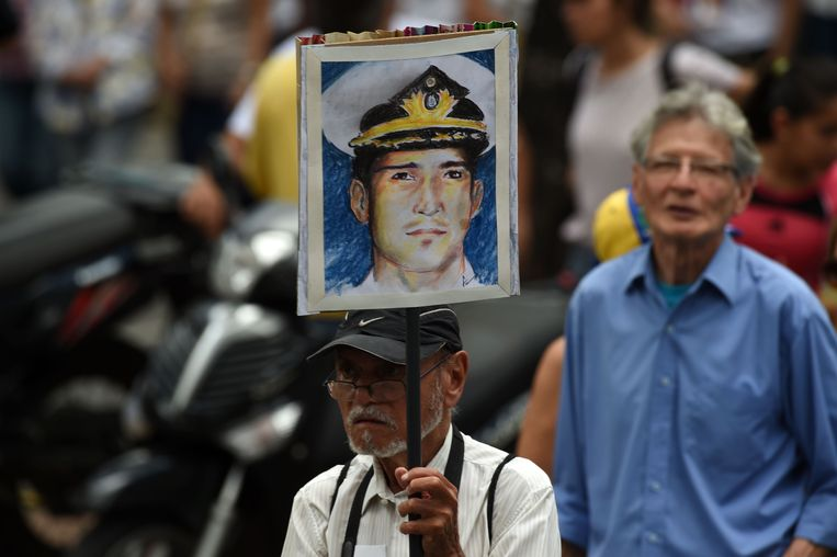 Rafael Acosta werd vermoord, volgens de oppositie door de militaire veiligheidsdienst.
