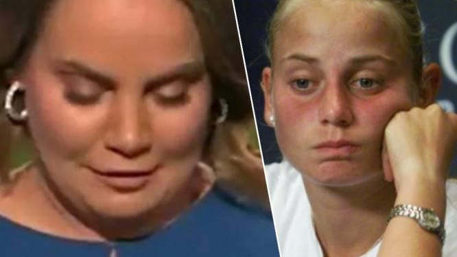 """Gewezen tennisster Jelena Dokic deelt een voor haar erg pijnlijke foto: """"Een paar jaar later maakte ik bijna een einde aan mijn leven"""""""