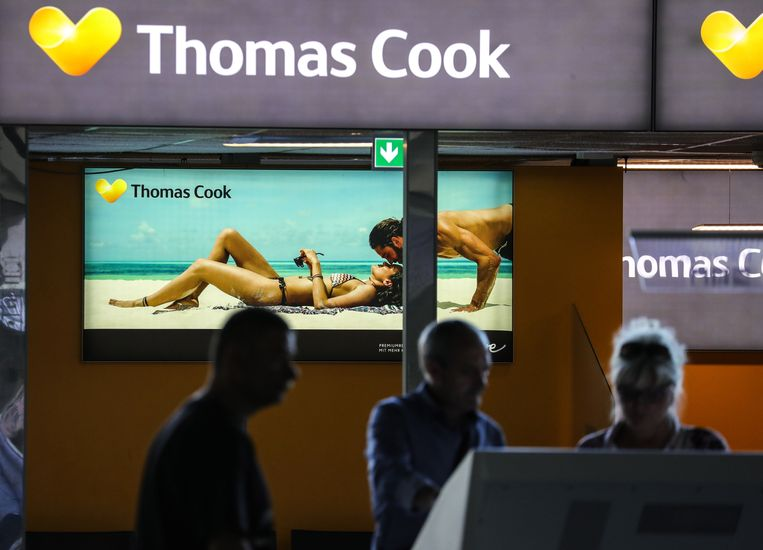 Het is de oudste reisorganisatie, in de VK opgericht rond 1845, maar nu zit Thomas Cook in slechte papieren. Beeld EPA