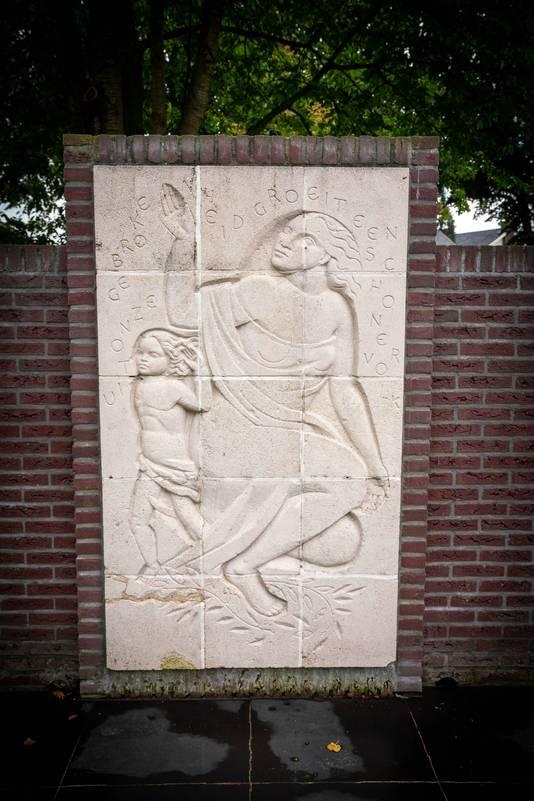 Monument Herrijzend Nederland in Gendt.