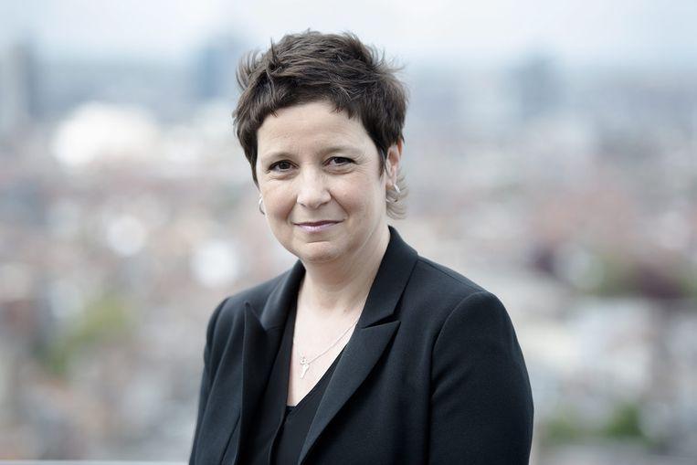 Kathleen Cools. Beeld VRT - Tom Cornille
