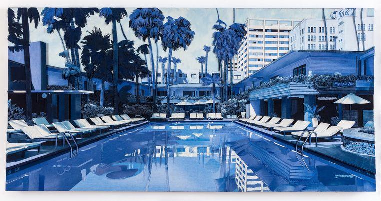 Ian Berry: Paradise Lost (Hollywood Roosevelt Hotel), 2020. Beeld