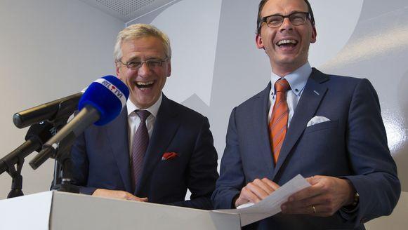 Wouter Beke en Kris Peeters (CD&V).