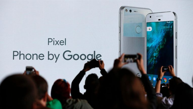 Pixel, de nieuwste smartphone van Google. Beeld anp