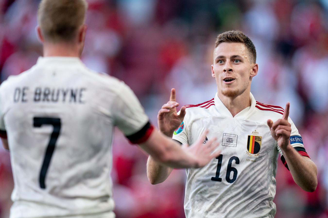 """Forfait pour le match contre la Finlande, Thorgan Hazard se sent """"de mieux en mieux""""."""