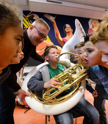 Muziekvereniging Euphonia in Eibergen doet poging tot nieuw jeugdkoor: 'Zang staat niet op zich'