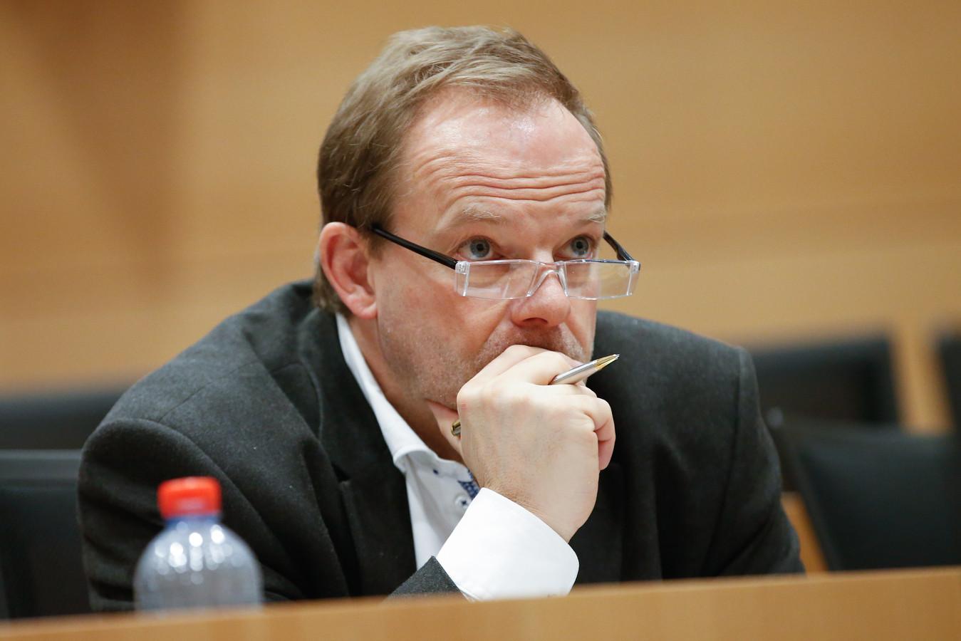Damien Thiéry, ex-bourgmestre non nommé de Linkebeek.
