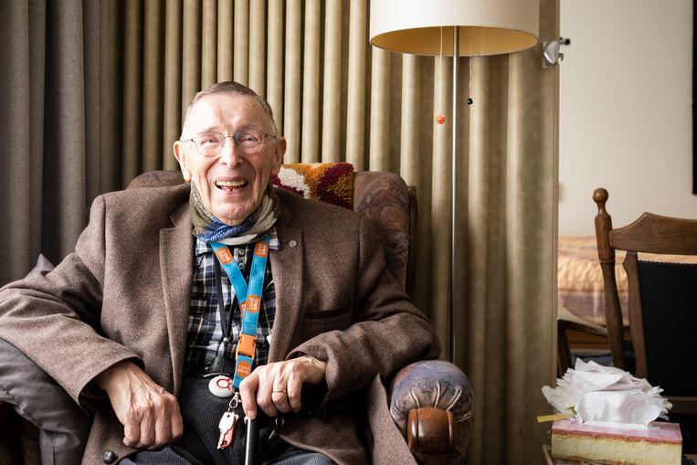 Joop Arnold (94). Beeld Roos Pierson