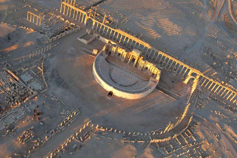 Palmyra, hier op een foto uit 2009. Beeld AFP