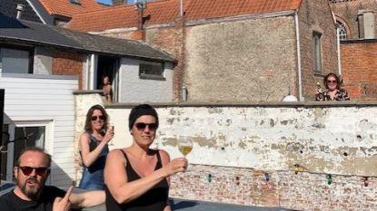"""De lockdown van Bart Van Avermaet: """"Corona-aperitief via ladder met de buren"""""""