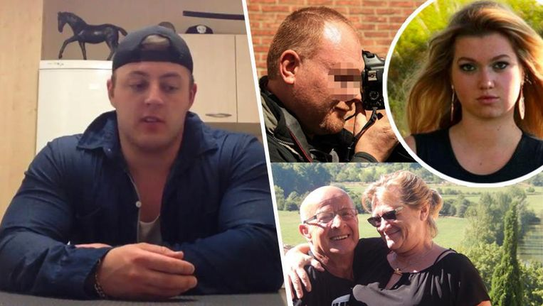 Alex Dean (links) heeft de vier moorden bekend, die op fotograaf Jeroen Verstraete, Mailys Descamps en haar grootouders Gery Cappon en Marie-José Vanleene. Beeld rv