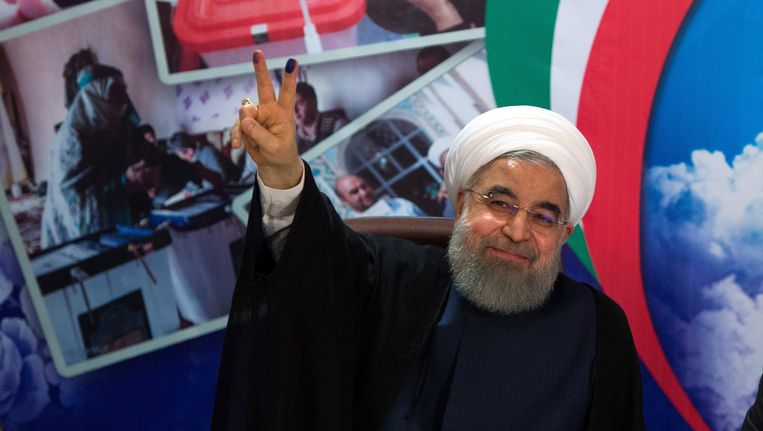 President Hassan Rouhani Beeld Getty Images
