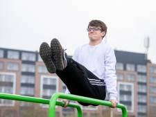 Ommen heeft dankzij Jonathan (17) een nieuw park om te sporten