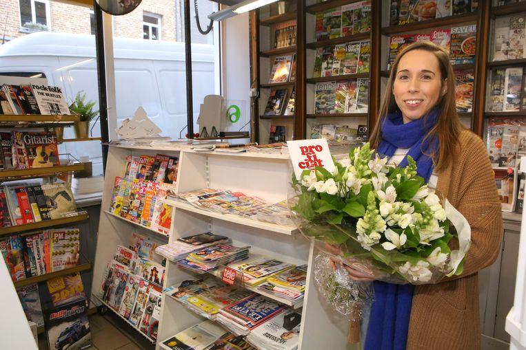 Annelies wil als dagbladhandelaar een dagelijks ontmoetingspunt in het centrum van de stad zijn.