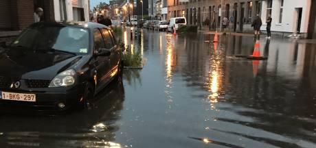 Les orages inondent des rues en province d'Anvers