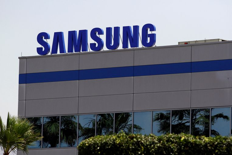 Een fabriek van Samsung in de Mexicaanse stad Tijuana. Samsung maakte dinsdag bekend dat het miljarden wil investeren in chips, kunstmatige intelligentie, robotica en medicijnen. Beeld REUTERS