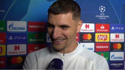 """Meunier: """"Of dit mijn match van het jaar is? (lacht) Dat wordt de finale van de Champions League!"""""""