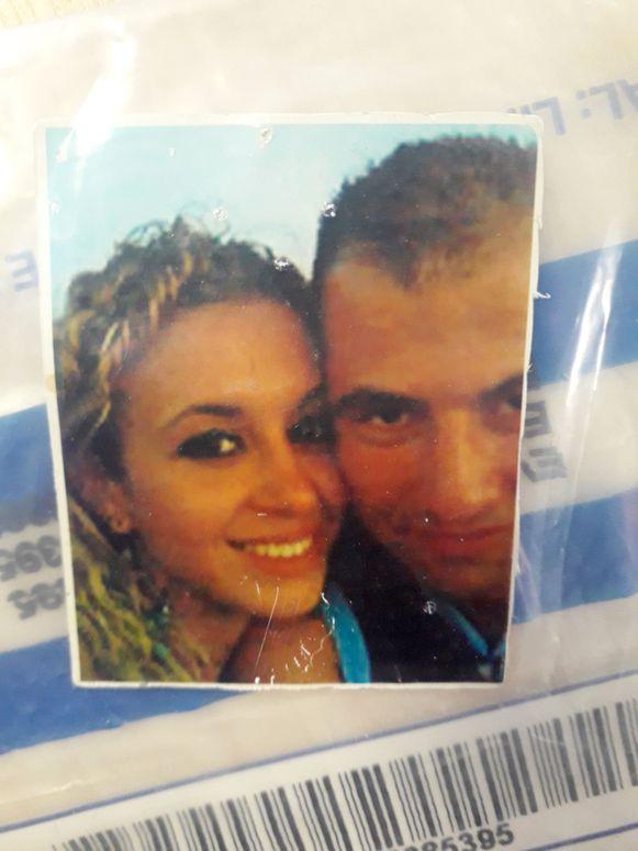 Sabrina Kouider en Ouissem Medouni op een foto die dateert van toen ze elkaar net leerden kennen.