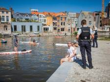 Rustige zaterdag voor Gentse politie
