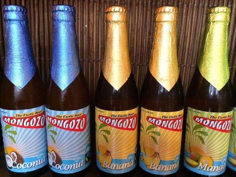 Tropische biertjes haal je hier ook. Beeld Redactie