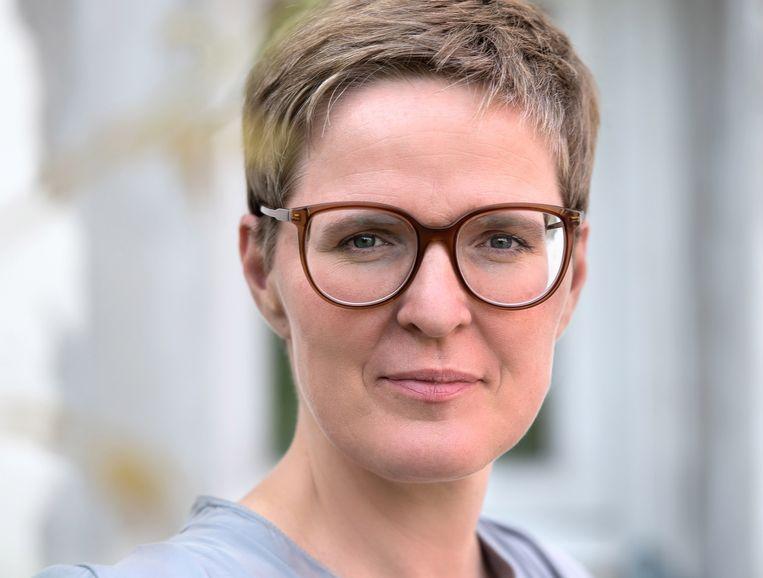 Klinisch psycholoog Elke Van Hoof. Beeld RV