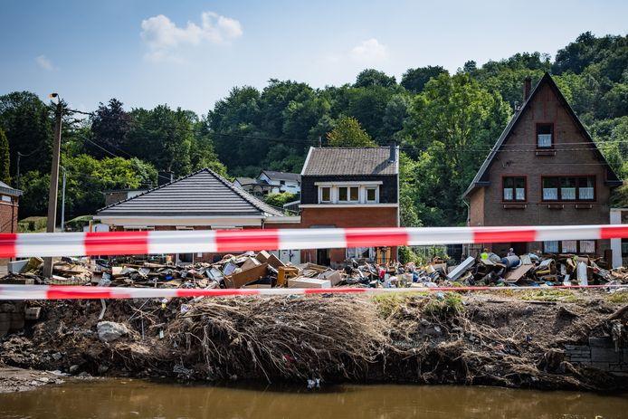 In Verviers en Pepinster (foto) alleen al zijn meer dan 12.000 mensen zo goed als dakloos.