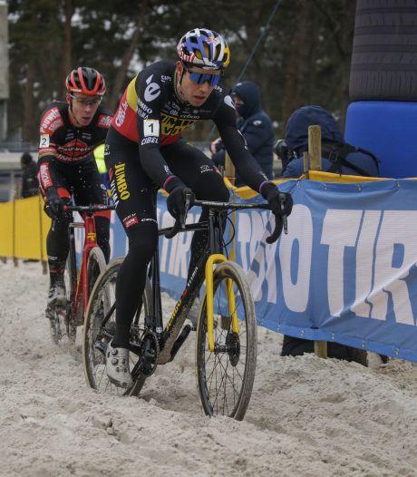 WK-test in Mol opsteker voor Wout van Aert: 'Dit zand lijkt op dat van Oostende'