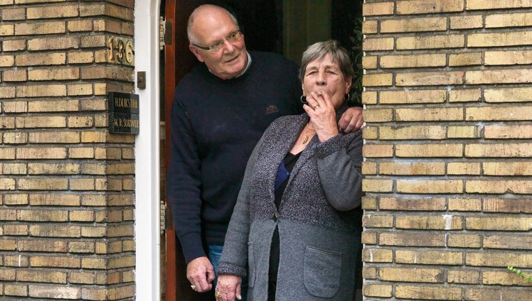 Ria (71) en Hans Dijkstra (75). Beeld