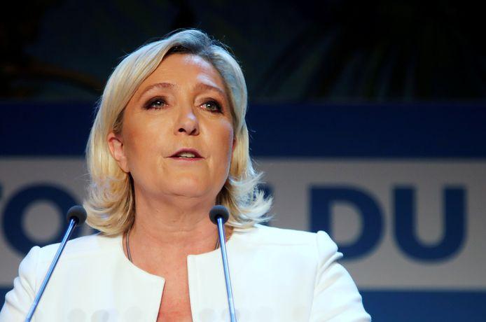 Franse politica Marine Le Pen