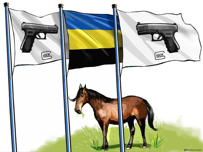 De provincie Gelderland en wapenfabrikant Glock zijn samen sponsor van diverse paardensport evenementen