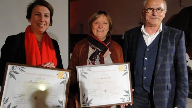 Pepingse cultuurprijs uitzonderlijk uitgereikt aan twee laureaten