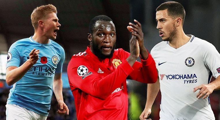 De Bruyne, Lukaku & Hazard.