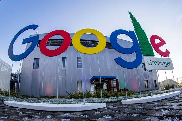 Het datacenter van Google in Eemshaven (Groningen).