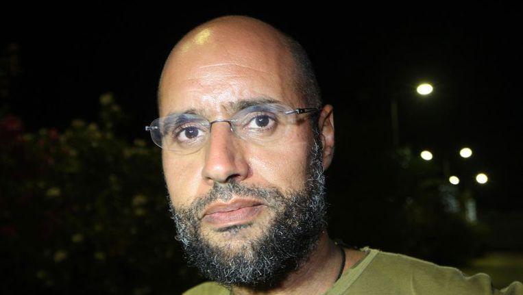 Saif al-Islam Kaddafi. Beeld ANP