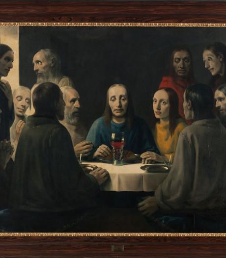 Schilderij Het Laatste Avondmaal uit Deventer Collectie naar Boijmans