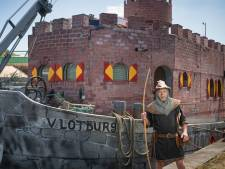 Terug in de tijd met drijvend kasteel uit de Middeleeuwen